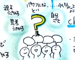 ワークショップにおける『問い』の多様性~ビジュアルファシリテーターの現場と学びから~